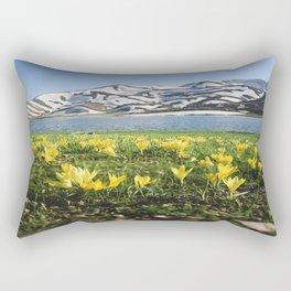 yellow flowers Rectangular Pillow