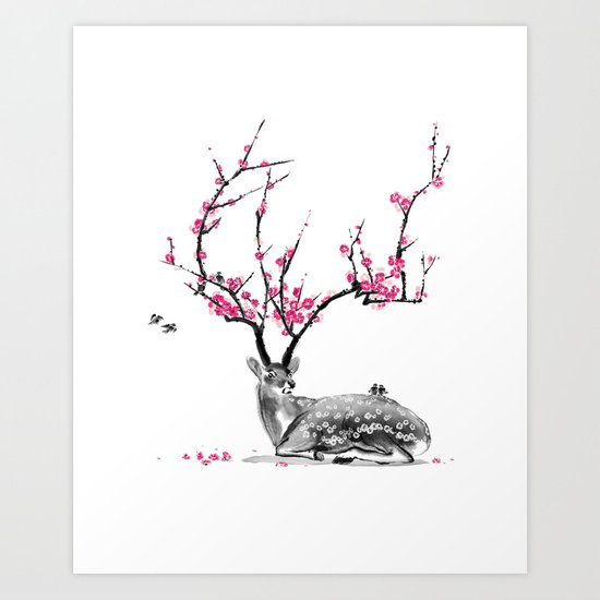 Blooming Art Print
