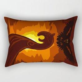 The Outsider Rectangular Pillow