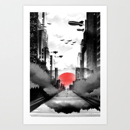 Still Rising Art Print