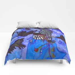Ravenwitch - Shades of Blue Comforters