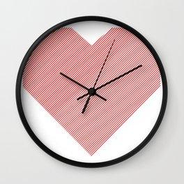hart /red/ Wall Clock