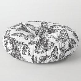 Miniature Pinscher Mosiac Floor Pillow