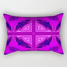 Softly lilac ornamentation Rectangular Pillow