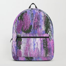 Abstract Brushstrokes Backpack