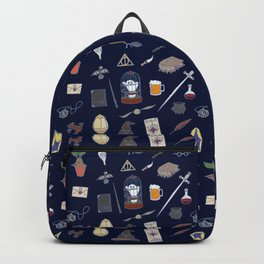 Harry Pattern Night Backpack