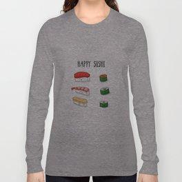 Happy Sushi Long Sleeve T-shirt