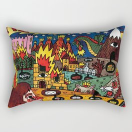 Neck Deep LNOTGY Rectangular Pillow