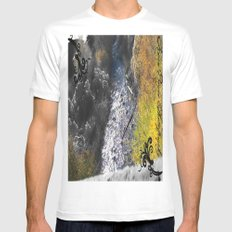 PAYSON RIVER Mens Fitted Tee White MEDIUM