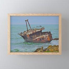 Cormorants Rest Framed Mini Art Print