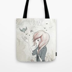 My Heart Carries Me Through Tote Bag