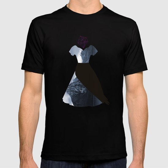 Filled with line T-shirt