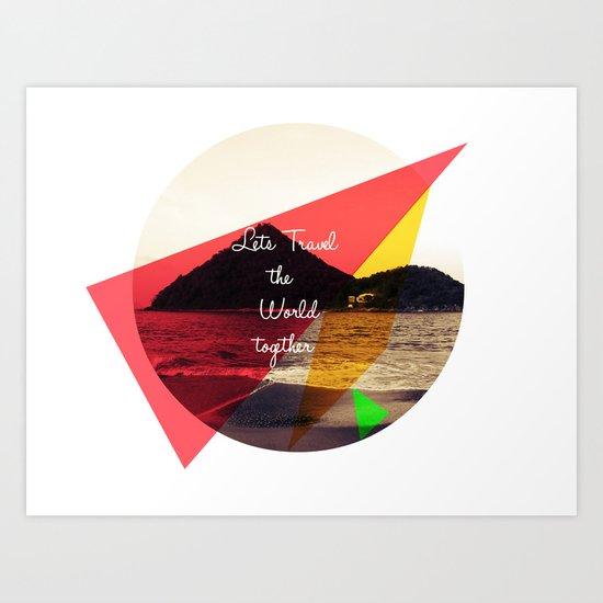 Lets.... Art Print