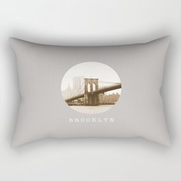 BROOKLYN / New York City Rectangular Pillow