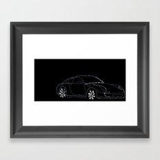 Porsche Carrera4s Framed Art Print