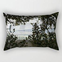 Seeing WTC1 through the Trees Rectangular Pillow
