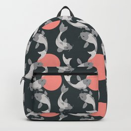 Koi fish pattern 001 Backpack