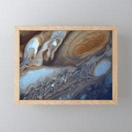 Jupiter's Red Spot Framed Mini Art Print