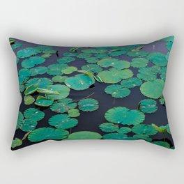 Temple Lilypond Rectangular Pillow