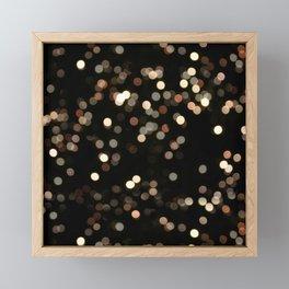 Rhapsodic Bokeh Effect Framed Mini Art Print