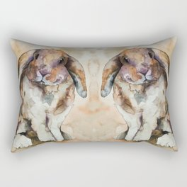 BUNNY #1 Rectangular Pillow