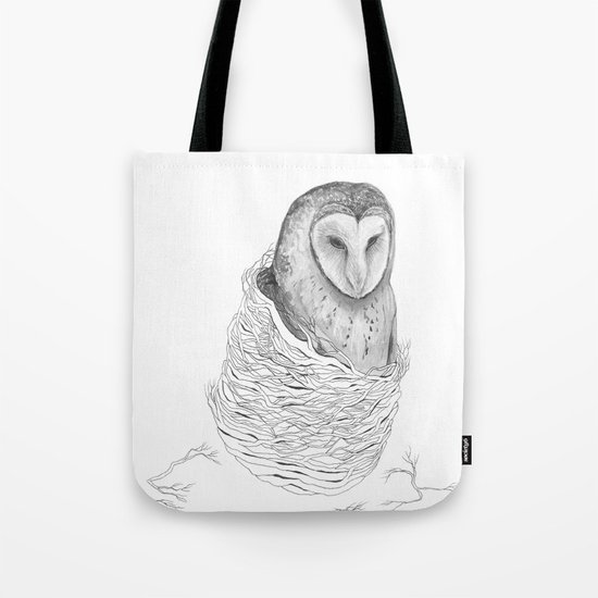 The Owl - Tangled Tote Bag