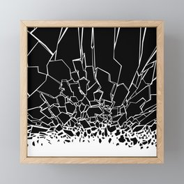Broken Framed Mini Art Print