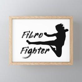 Fibro Fighter Framed Mini Art Print
