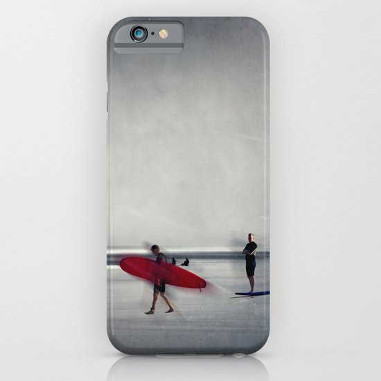 red surf board iPhone & iPod Case