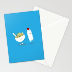 Cereal & Milk  Stationery Cards