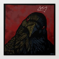 King of the Crows. Canvas Print