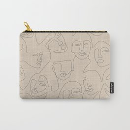 She's Beige Carry-All Pouch