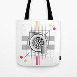 Turbo engine Tote Bag