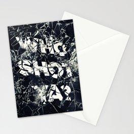 Who Shot Ya? Stationery Cards