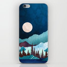 Moon Bay iPhone Skin