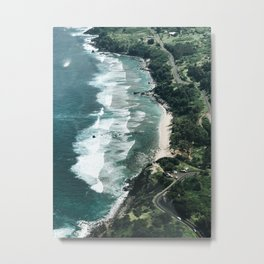 Paradise from abaove Metal Print
