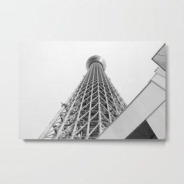 Tokyo Sky Tree Metal Print