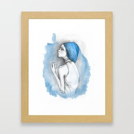 blue2 Framed Art Print