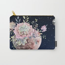 succulent night light Carry-All Pouch
