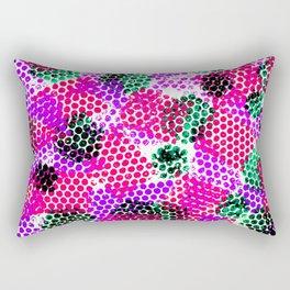 Colorful Fusion Rectangular Pillow