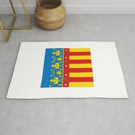 flag of Valence Rug