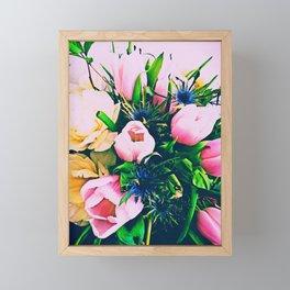Tulip madness Framed Mini Art Print