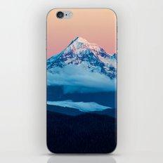 Alpenglow Mt Hood iPhone & iPod Skin