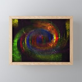 Concept abstract : The way of colours Framed Mini Art Print