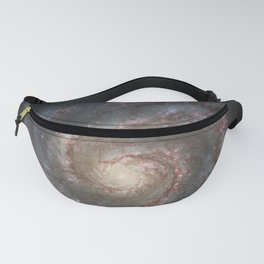 The Whirlpool Galaxy Fanny Pack