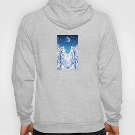 White Woods Snow Hoody