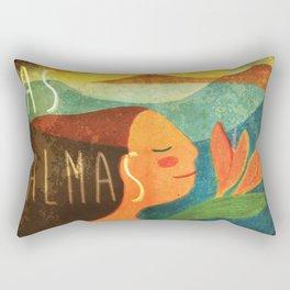 Las Palmas de Gran Canaria Rectangular Pillow