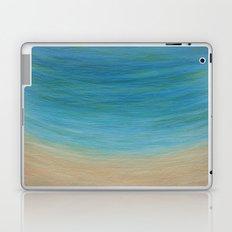 Seas The Day beach painting Laptop & iPad Skin