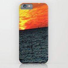 fire in the sky iPhone 6s Slim Case