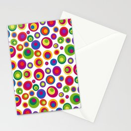 Eyes on the 60s - brights Stationery Cards